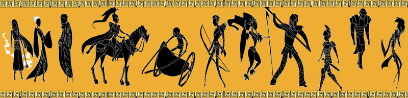 Trojan Kings by poly-m