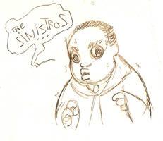 Dramatic Black Chubby Kid... by poly-m