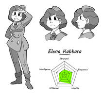 OO - Modelsheet Elena by poly-m