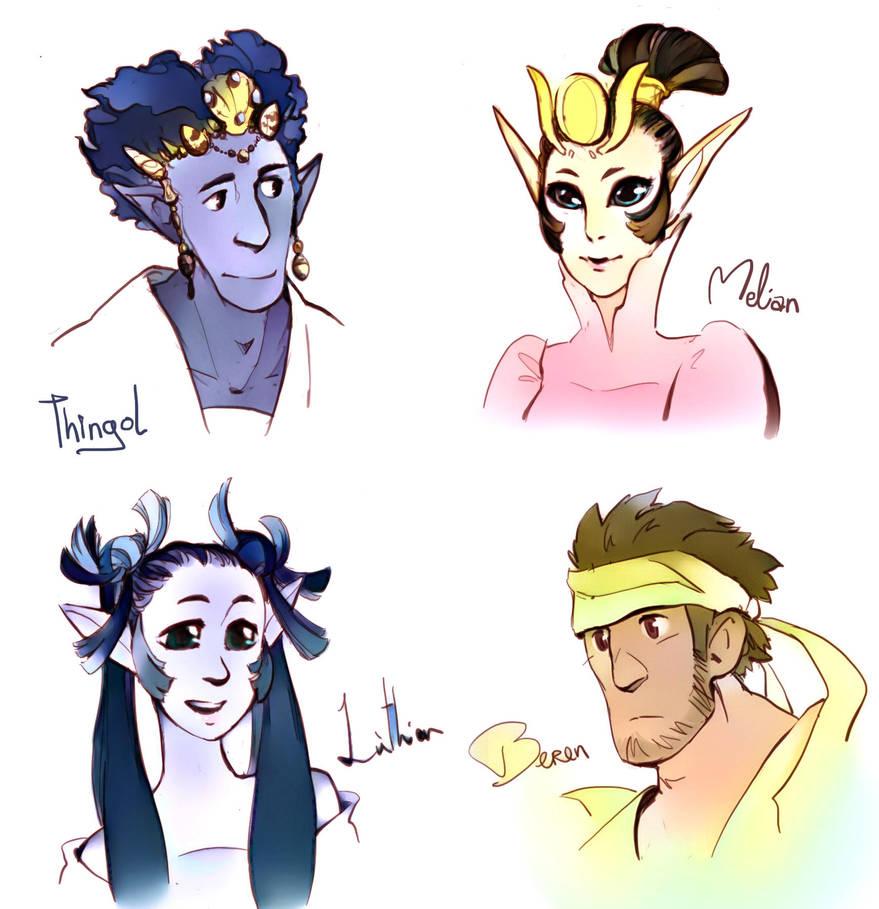 Doriath Family by poly-m