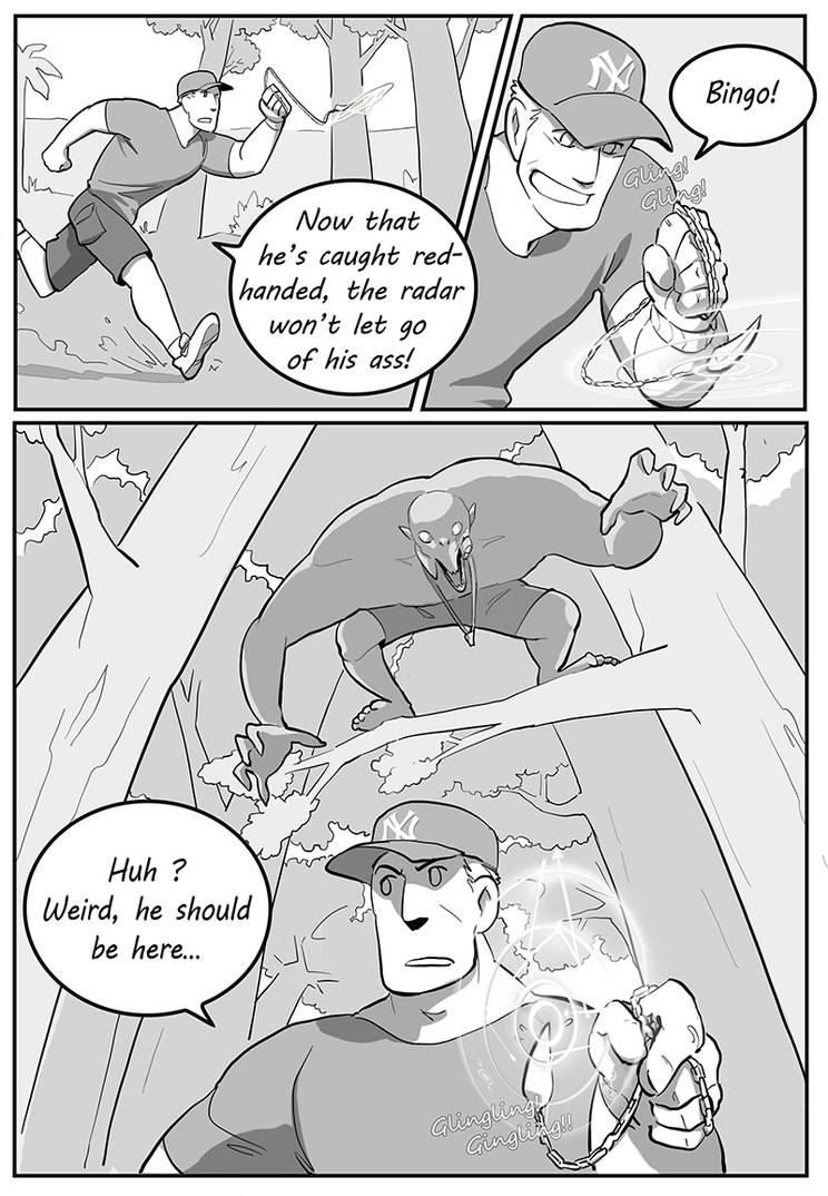 Occult Officers - Page 26 by poly-m