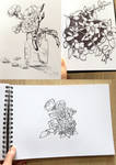 Original Drawings SALE by poly-m