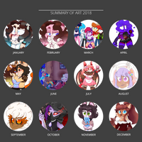 2018 Art Summary by Dessert-Dingo