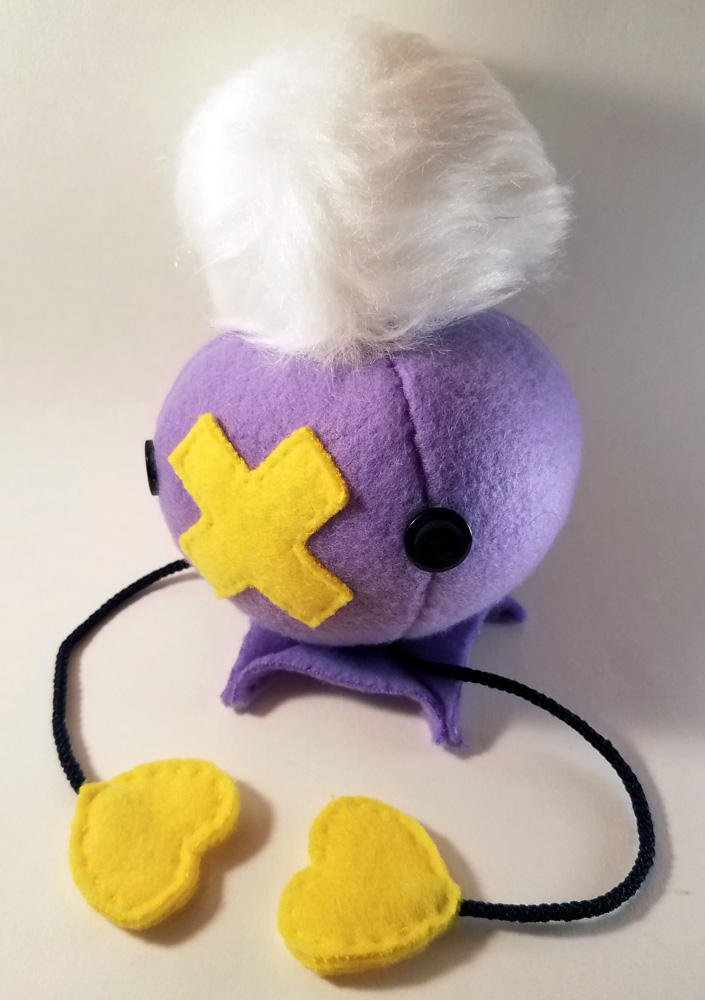 Pompom Drifloon Plushie by theloftyballoon