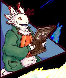 Secret Santa: Ipo's Big Old Book for Sketchin' by Daeranilen