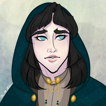 Dexia Stoutwood - Character Portrait by Daeranilen
