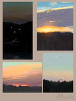 Two evenings by Ali-zarina