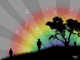 Follow the Music by sylverokami
