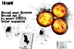 Grunge Id card by direless