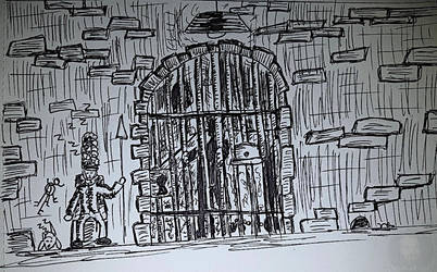 Guarded day 13 inktober 2018 by MrBanksArt