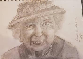 Queen Elizabeth II by MrBanksArt