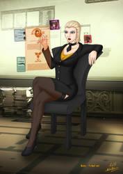 Shadowrun : In the Office by Nemhainn