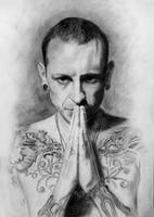 Chester Bennington by Zheniaa
