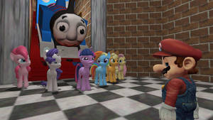 Thomas and Twilight's Adventures of Super Mario 64 by Maxtaro