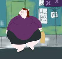 FAT: I'd call it 'Fatty Bobo' if it wasn't Maggie by Maxtaro