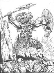 Beastman Rampaging by Madhouse-Workshop