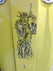 Harley Davidson Dash - Undead Cowboy by Madhouse-Workshop