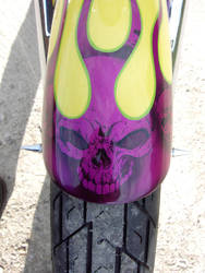 Motorcycle Front Fender by Madhouse-Workshop
