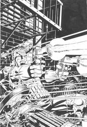 Full Scan of My Inks / Mike Zeck's Punisher by Madhouse-Workshop