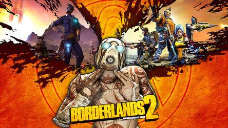 Double Shot Psycho Wallpaper Borderlands 2 by mentalmars