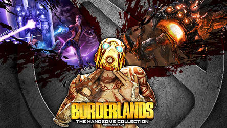 Borderlands Handsome Collection Wallpaper by mentalmars