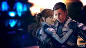 Reyes Vidal/Sarah Ryder. Relax, it's not a waltz by RINxxxRIN