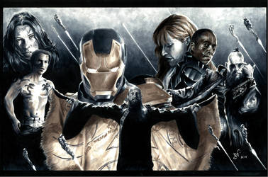 Iron Man 3 by gph-artist
