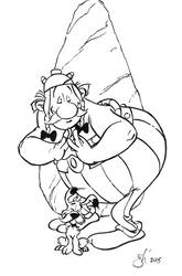 Obelix DSC by gph-artist