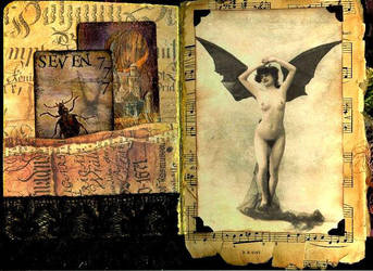 Altered Book  5 by Izabella777