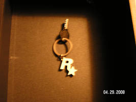 the gun case key and key chain by GrandTheftAuto4