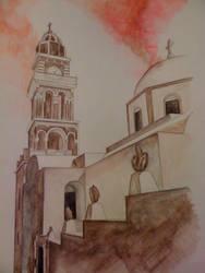 Church - Greece I by zedi360