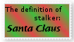 Santa the Stalker Stamp by Autumn-Blizzard-Fang