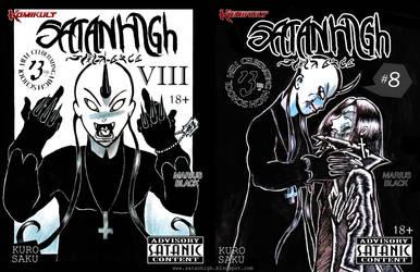 SATAN HIGH #8 by SATANHIGH