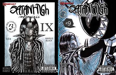 SATAN HIGH #9 by SATANHIGH