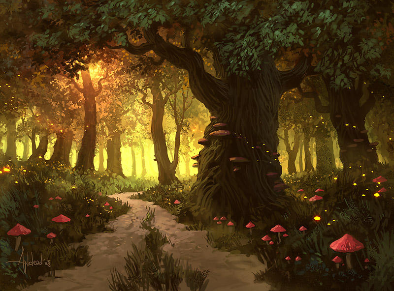 Forest by Andead
