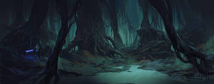 Swamp by Andead