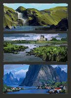 landscapes by Andead