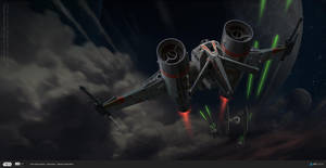 ILM Art Challenge - Heavy Assault Bomber by Andead