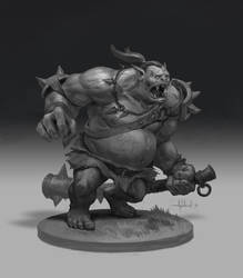 Ogre by Andead
