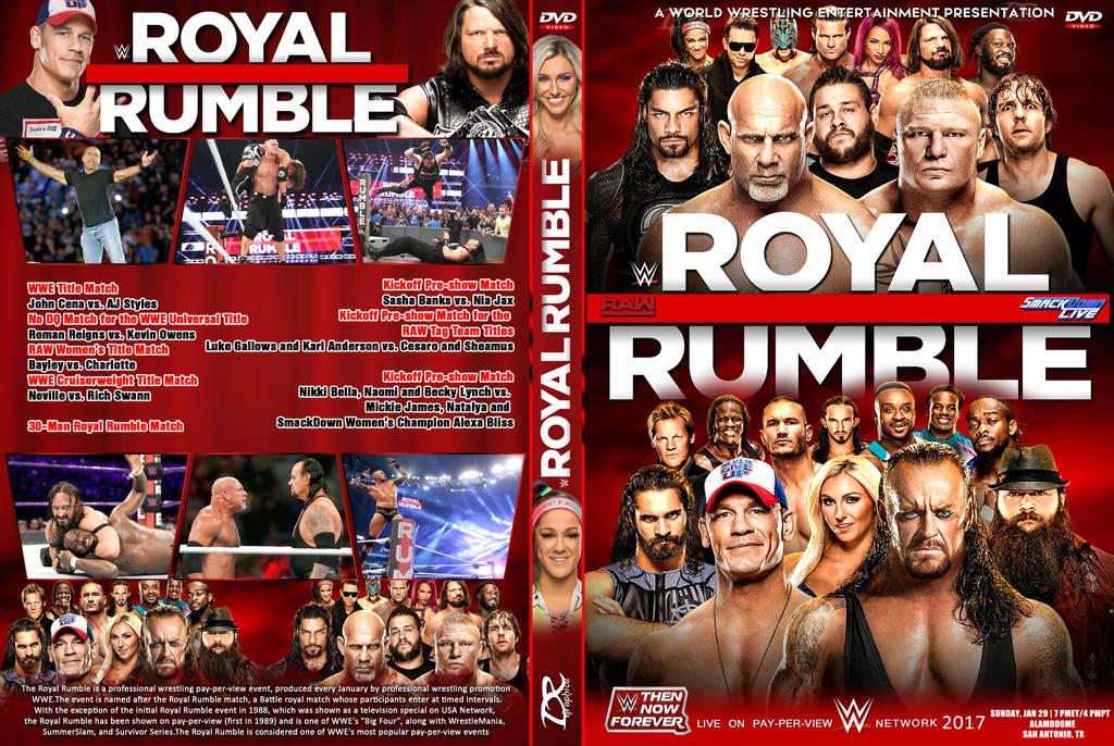 Resultado de imagen para WWE Royal Rumble 2017 dvd