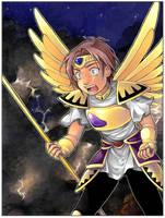 TEGAKI: Celestial Mushra by Katsuhiro-Miamura