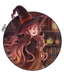 Little Witch by MaryCat83