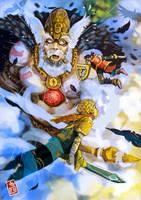 Falling Gods. by pablobroseta