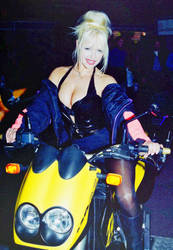 Motorbike Girl III by Davie169