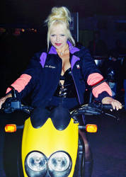 Motorbike Girl II by Davie169