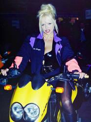 Motorbike Girl I by Davie169