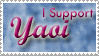 I Support Yaoi Stamp by Wesker-Chick