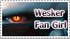 Wesker Fan GIRL Stamp by Wesker-Chick