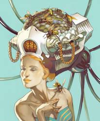 Hive Head by Lizzy-John