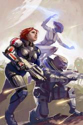 Mass Effect Fan Art by Lizzy-John
